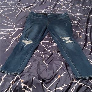 Old Navy Distressed Rockstar Jeggings